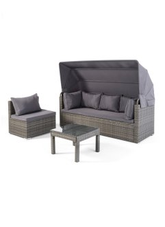 "Lounge-Set ""Port Luis"" 3tlg., bpc living"