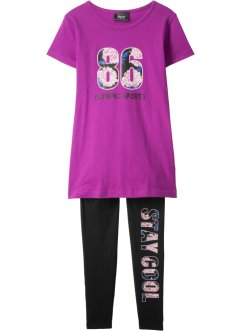 T-Shirt + Leggings (2-tlg.), bpc bonprix collection