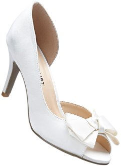 Pumps aus Satin, BODYFLIRT