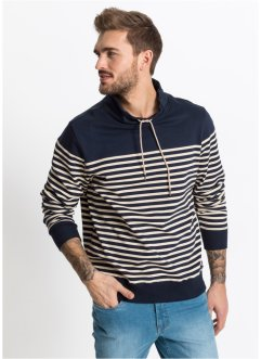 Schalkragen-Sweatshirt Slim Fit, RAINBOW