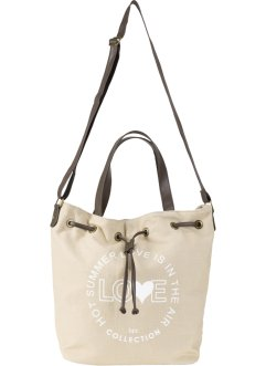 Beuteltasche Canvas, bpc bonprix collection