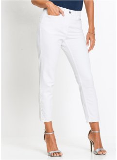 7/8-Stretchjeans mit Spitze, bpc selection