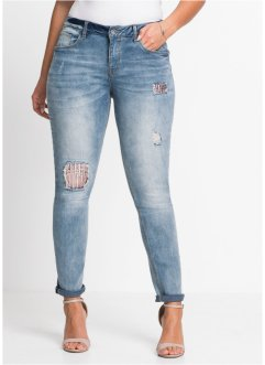 Jeans mit Paillettenapplikation, BODYFLIRT