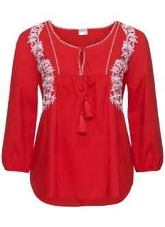 3/4-Arm-Tunika-Bluse, BODYFLIRT