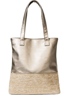 Shopper mit Bast, bpc bonprix collection