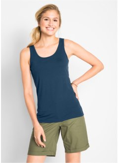 Stretch Tank-Top, (2er-Pack), bpc bonprix collection