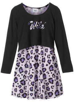 Kleid + Boxyshirt (2-tlg.), bpc bonprix collection