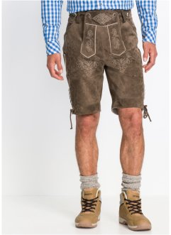 Kurze Lederhose Regular Fit, bpc selection
