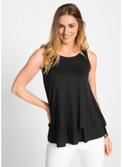 Doppellagiges Top, bpc bonprix collection