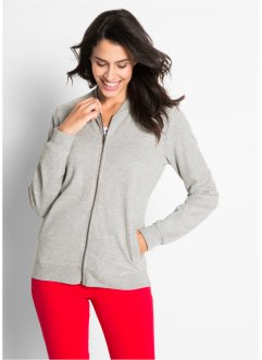 Sweatjacke mit Collegekragen, bpc bonprix collection
