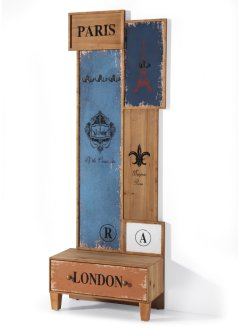 "Garderobenpaneel ""London"", bpc living bonprix collection"