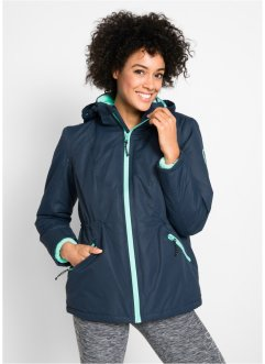 Funktions-Outdoor-3 in 1 Jacke, Innenjacke aus Kuschelfleece, bpc bonprix collection