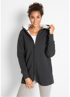 Sweatjacke mit Fleece, bpc bonprix collection