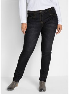 Gerade Push-up-Stretchjeans, bpc bonprix collection