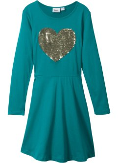 Langarmkleid mit Wendepailetten, bpc bonprix collection