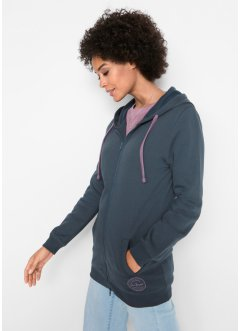 Long-Sweatjacke, John Baner JEANSWEAR