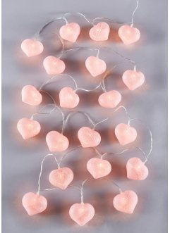 "LED-Lichterkette ""Cotton Heart"", bpc living"