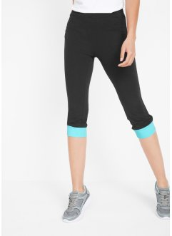 Capri Sport-Leggings, 3/4-Länge, Level 1, bpc bonprix collection