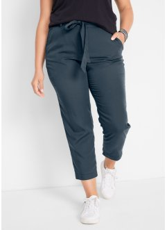 Leichte Web-Bundfaltenhose aus Tencel, knöchellang, bpc bonprix collection
