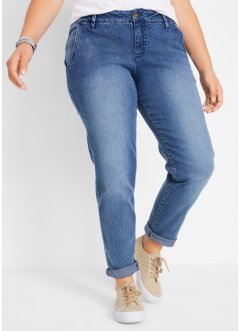 Soft-Stretch-Jeans im Chinostil, John Baner JEANSWEAR