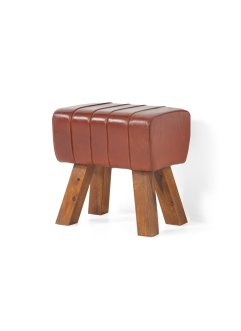 Hocker aus Kunstleder, bpc living bonprix collection