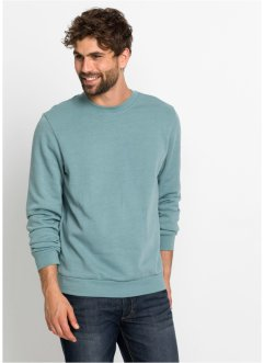 Sweatshirt mit Rundhals-Ausschnitt, bpc bonprix collection