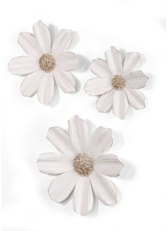 Wanddeko Blumen (3-tlg.Set), bpc living bonprix collection