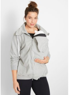 Sweat-Tragejacke / Sweat-Umstandsjacke, bpc bonprix collection