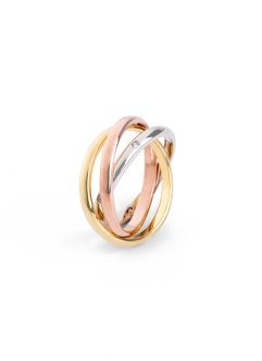 3-reihiger Ring, bpc bonprix collection