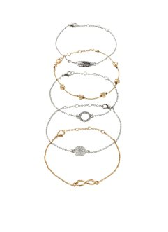 Armband 5er Pack, bpc bonprix collection