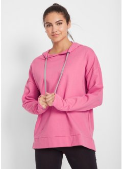 Maite Kelly Baumwoll Oversize-Kapuzensweatshirt, langarm, bpc bonprix collection