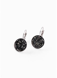 Ohrringe mit Swarovski® Kristallen, bpc bonprix collection