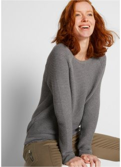 Pullover in Querrippe, bpc bonprix collection