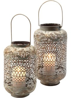 Windlicht Ornament (2-tlg- Set), bpc living bonprix collection