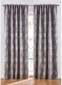 Jacquard Vorhang gemustert (1er Pack), bpc living bonprix collection