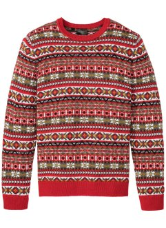Norweger-Pullover mit Wolle, bpc selection