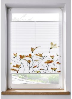 Plissee mit Blumen Druck, bpc living bonprix collection