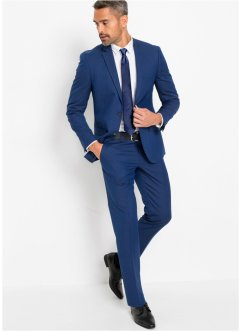 Anzug (3-tlg.Set): Sakko, Hose, Krawatte Slim Fit, bpc selection