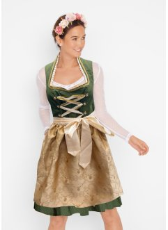 Dirndl mit Stehkragen 2-tlg. Set, bpc bonprix collection