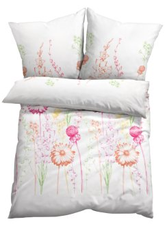 Bettwäsche mit zarter Blumenwiese, bpc living bonprix collection
