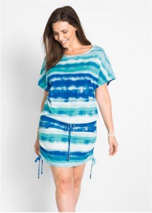 Shirtkleid mit Bindefunktion, halbarm, bpc bonprix collection 31e35bbcfc