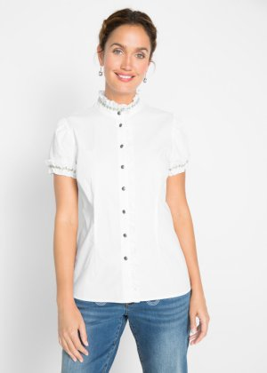 Bluse mit Rüschen, bpc bonprix collection