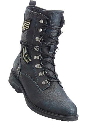 best website a0286 d2c52 Damen Stiefeletten Derbe Worker Boots Biker Boots Stiefel ...