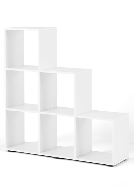 regal weiß 6 fächer