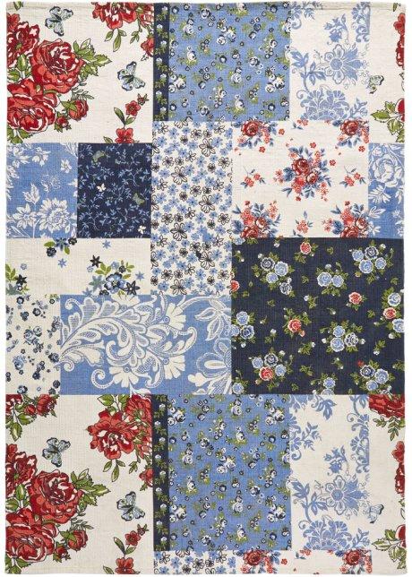 Fur Mehr Pepp Im Zuhause Der Teppich Valerie Natur Blau