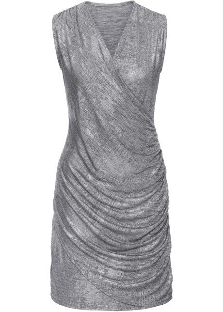 Glitzer-Kleid silber - BODYFLIRT online bestellen - bonprix.at