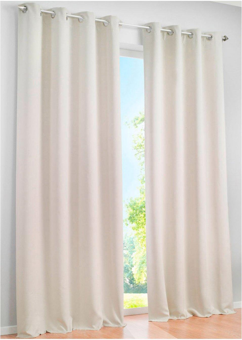licht und sichtschutz am tag und in der nacht mit dem vorhang verdunkelung creme sen 1er. Black Bedroom Furniture Sets. Home Design Ideas