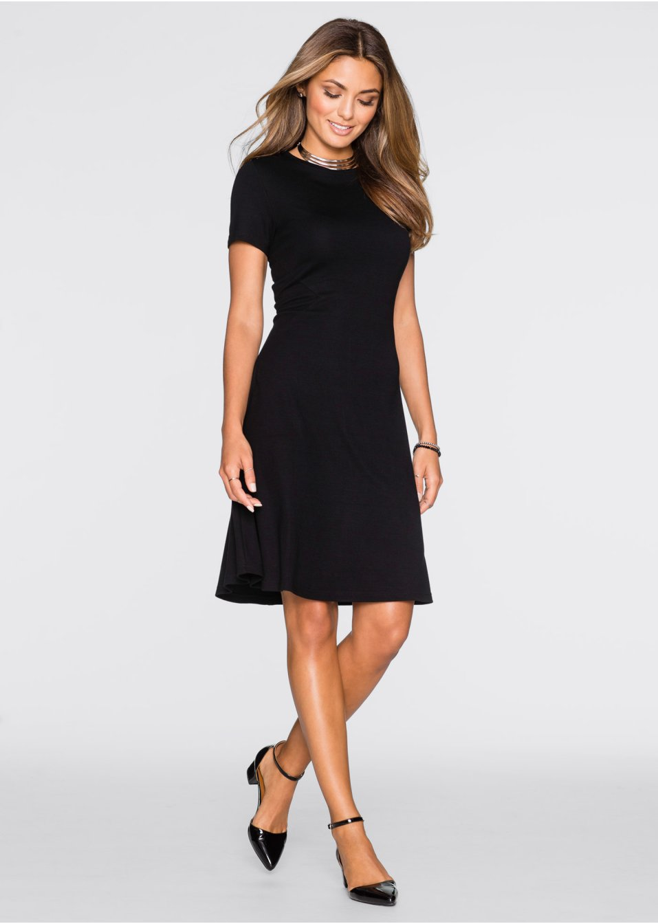 Kleid schwarz - Damen - bonprix.at