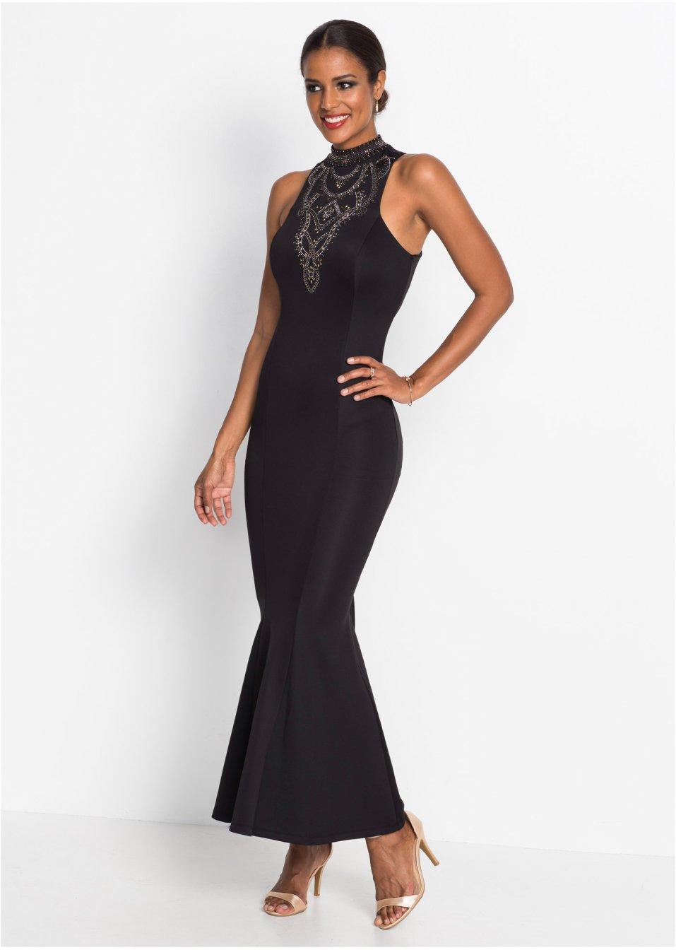 Abendkleid schwarz - Damen - bonprix.at