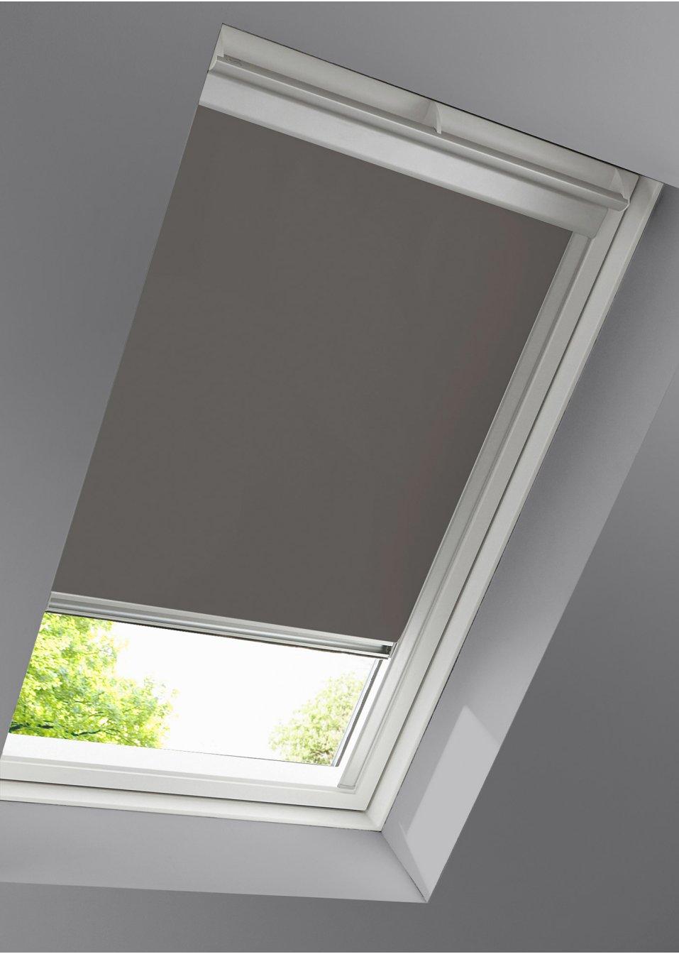 dachfenster rollo verdunkelung taupe wohnen bpc living. Black Bedroom Furniture Sets. Home Design Ideas